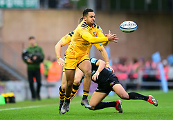 Zach Kibirige of Wasps - Mandatory by-line: Dougie Allward/JMP - 30/11/2019 - RUGBY - Sandy Park - Exeter, England - Exeter Chiefs v Wasps - Gallagher Premiership Rugby