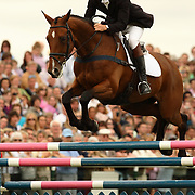 William Fox-Pitt (GBR) and Parkmore Ed at the 2007 Land Rover Burghley Horse Trials held in Stamford, England