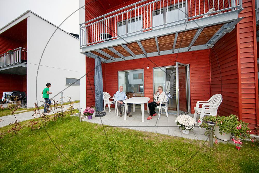 Fasanvangen, Lejerbo, nybyggeri af rækkehuse til udlejning i Ishøj, grønne områder