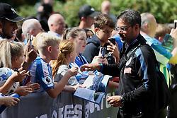 Huddersfield Town manager signs autographs for fans - Mandatory by-line: Matt McNulty/JMP - 26/08/2017 - FOOTBALL - The John Smith's Stadium - Huddersfield, England - Huddersfield Town v Southampton - Premier League