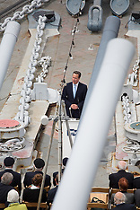 MAY 20 2014 HMS Belfast DDAY 70 commemoration