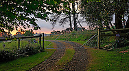 Country farm gate