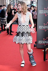 Edinburgh International Film Festival 2019<br /> <br /> Boyz In The Wood (European Premiere)<br /> <br /> Stars and guests arrive on the red carpet for the opening gala<br /> <br /> Pictured: Sarah Megan Thomas<br /> <br /> Alex Todd | Edinburgh Elite media