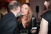 GAVIN TURK; HEATHER KERZNER, Opening of Bailey's Stardust - Exhibition - National Portrait Gallery London. 3 February 2014