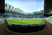 St James' Park ahead of the Premier League match between Newcastle United and Leicester City at St. James's Park, Newcastle, England on 9 December 2017. Photo by Craig Doyle.