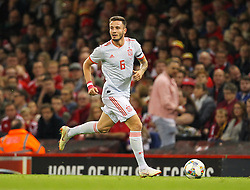 October 11, 2018 - Cardiff City, Walles, United Kingdom - Cardiff, Wales October 11, ..Saul Niguez of Spain during Exhibition Match between Wales and Spain at Principality stadium, Cardiff City, on 11 Oct  2018. (Credit Image: © Action Foto Sport/NurPhoto via ZUMA Press)