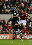 Nottingham - Saturday November 22nd, 2008: Chris Cohen of Nottingham Forest and John Kennedy of Norwich City during the Coca Cola Championship match at The City Ground, Nottingham. (Pic by Alex Broadway/Focus Images)