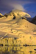 Glacier, Lemaire Channel, Antarctic Peninsula.