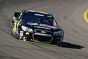 Mar 2, 2013; Avondale, AZ, USA; NASCAR Sprint Cup Series driver Jeff Gordon (24) during practice for the Subway Fresh Fit 500 at Phoenix International Raceway. Mandatory Credit: Douglas Jones-DDJ Sports Imaging