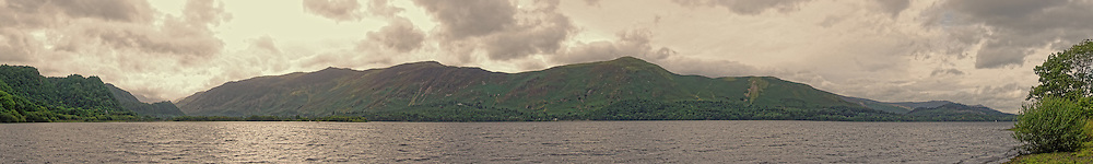 Bassenthwaite Lake is one of the largest water bodies in the English Lake District.