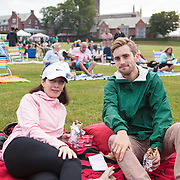 NewportFILM's screening of Meru on St. George's School lawn, Newport, Rhode Island, USA, July9,2015.  Photo: Tripp Burman