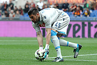 Mariano Andujar Napoli <br /> Roma 04-04-2015 Stadio Olimpico, Football Calcio Serie A AS Roma - Napoli Foto Andrea Staccioli / Insidefoto