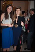 AMBER NUTTALL; TERESA CALICE, The Launch of OSMAN the Collective No.3, hosted by Valeria Napoleone, Kensington. 15 May 2014.