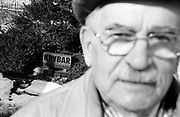 "Veteran Feliks Arak  (LEW. lion) in the places where he joined the ""Krybar"" Battalion and was sent to the battle front during Warsaw Uprising."