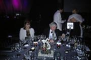 Mr. and Mrs. Frank Johnson. The Black and White Winter Ball. Old Billingsgate. London. 8 February 2006. -DO NOT ARCHIVE-© Copyright Photograph by Dafydd Jones 66 Stockwell Park Rd. London SW9 0DA Tel 020 7733 0108 www.dafjones.com