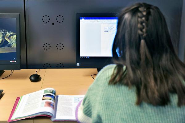 Nederland, Doetinchem, 20-11-2018Leerlingen van het Ludgercollege. Over de krimp en gevolgen voor het onderwijs in een krimpregio zoals de AchterhoekFoto: Flip Franssen