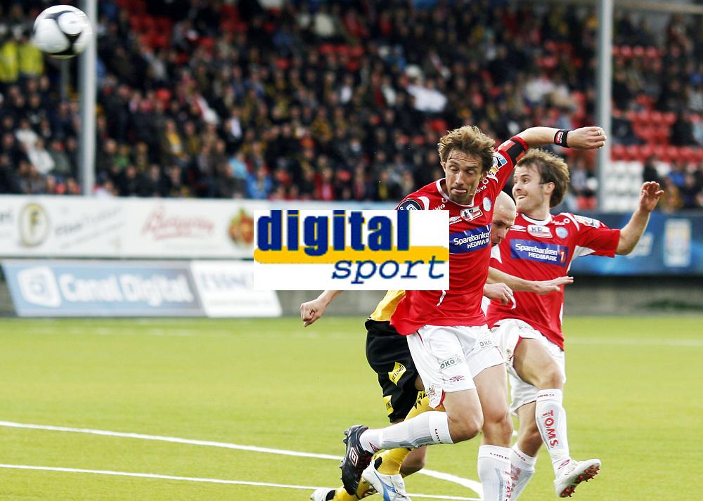 Fotball, 14. april 2010 , Tippeligaen , Eliteserien<br /> Kongsvinger - Lillestr&oslash;m<br /> <br /> Vidar Riseth , Kongsvinger<br /> <br /> Foto: Anders Hoven , Digitalsport