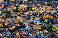 Overview of Soweto (South Western Townships), Johannesburg, South Africa.