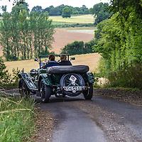 Sue Shoosmith & Trina Harley in their Bentley 3-4½ Vanden Plas on the Royal Automobile Club 1000 Mile Trial 2015