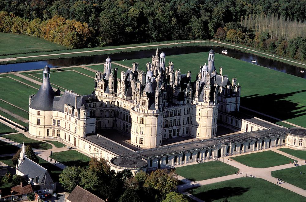 France, Pays de Loire, Loir et Cher, Château de Chambord // Chambord Castle, Loir and Cher department, Loire region, France