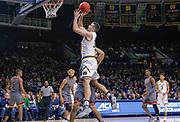 SOUTH BEND, IN - JANUARY 12: John Mooney #33 of the Notre Dame Fighting Irish shoots the ball during the game against the Boston College Eagles at Purcell Pavilion on January 12, 2019 in South Bend, Indiana. (Photo by Michael Hickey/Getty Images) *** Local Caption *** John Mooney