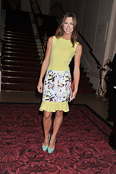 MARGO STILLEY at the Audi Ballet Evening held at the Royal Opera House, Bow Street, Covent Garden, London on 22nd March 2012.