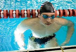 Jernej Godec of Slovenia during the 50m Freestyle at the swimming competition Ilirija Challenge 2009, on December 16, 2009, in Tivoli pool, Ljubljana, Slovenia. (Photo by Vid Ponikvar / Sportida)