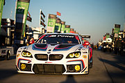 March 16-18, 2017: Mobil 1 12 Hours of Sebring. 25 BMW Team RLL, BMW M6, Bill Auberlen, Alexander Sims, Augusto Farfus, Bruno Spengler