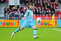 Anthony SCRIBE  - 20.12.2014 - Brest / Ajaccio - 18eme journee de Ligue 2 <br /> Photo : Vincent Michel / Icon Sport