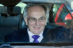 © Licensed to London News Pictures. 29/03/2019. London, UK. PETER BONE MP is seen smiling as he leaves Parliament after MPs rejected Theresa May's withdrawal agreement. Photo credit: Ben Cawthra/LNP