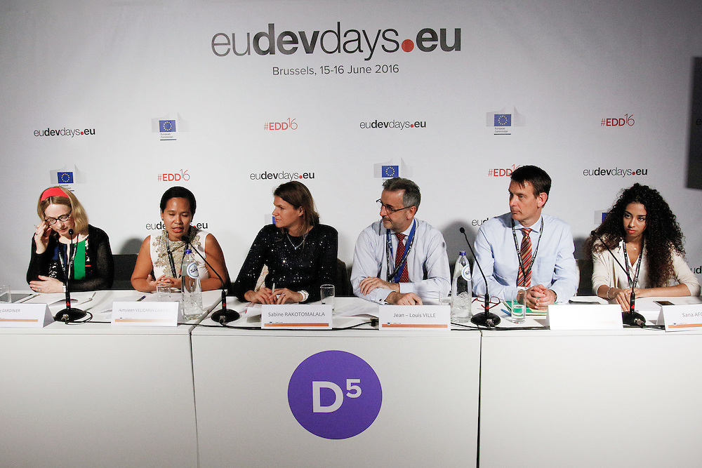 20160616 - Brussels , Belgium - 2016 June 16th - European Development Days - Making sure every child is free from violence © European Union