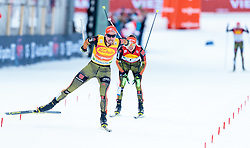 17.12.2016, Nordische Arena, Ramsau, AUT, FIS Weltcup Nordische Kombination, Langlauf, im Bild Johannes Rydzek (GER) // Johannes Rydzek of Germany during Cross Country Competition of FIS Nordic Combined World Cup, at the Nordic Arena in Ramsau, Austria on 2016/12/17. EXPA Pictures © 2016, PhotoCredit: EXPA/ JFK