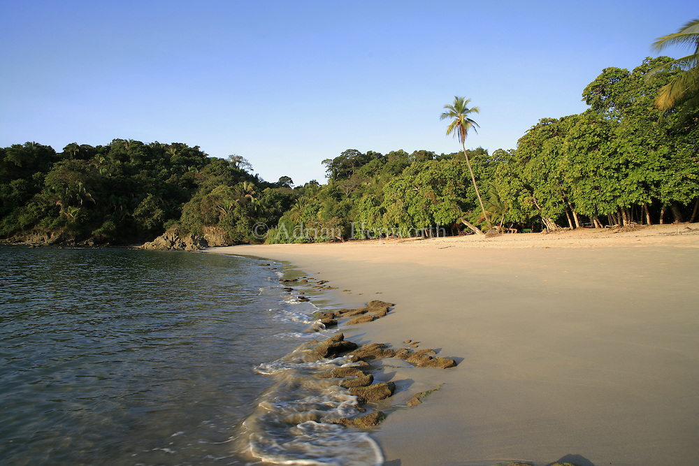 Manuel Antonio Beach, Manuel Antonio National Park, pacific coast, Costa Rica. <br />