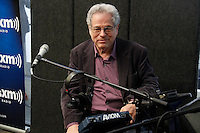 Itzhak Perlman visits the studios of SiriusXM Satellite Radio in New York on June 6, 2012..Photo Credit ; Rahav Iggy Segev / Photopass.com