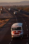 Autobús conurbado de la línea Cuauhtémoc que recorre los ejidos de la comarca lagunera, conectando con las ciudades de Fco. I Madero y Torreón Coahuila, en México.