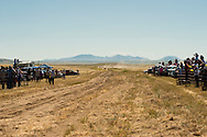 Fort Belknap Indian Reservation, Montana, Milk River Memorial Horse Races, One Mile Youth Race, winner Tevin Horn, Assiniboine..