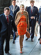 Koningin Maxima houdt woensdag 11 mei als speciale pleitbezorger van de VN secretaris-generaal voor