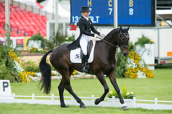 Price Jonelle, (NZL), The Deputy<br /> Dressage <br /> Mitsubishi Motors Badminton Horse Trials - Badminton 2015<br /> © Hippo Foto - Jon Stroud<br /> 08/05/15