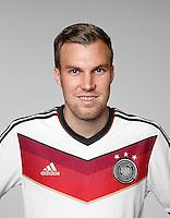 FUSSBALL   PORTRAIT TERMIN DEUTSCHE NATIONALMANNSCHAFT 24.05.2014 Kevin Grosskreutz (Deutschland)