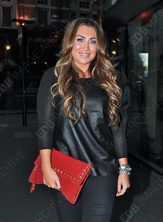 04.SEPTEMBER.2012. LONDON<br /> <br /> LAUREN GOODGER ATTENDS THE JEANS FOR GENES LAUNCH PARTY AT THE W HOTEL, LEICESTER SQUARE.<br /> <br /> BYLINE: EDBIMAGEARCHIVE.CO.UK<br /> <br /> *THIS IMAGE IS STRICTLY FOR UK NEWSPAPERS AND MAGAZINES ONLY*<br /> *FOR WORLD WIDE SALES AND WEB USE PLEASE CONTACT EDBIMAGEARCHIVE - 0208 954 5968*