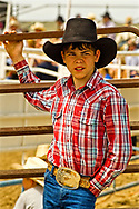 Young cowboy, Miles City Bucking Horse Sale, rodeo, Montana