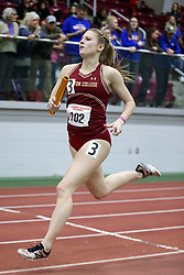 4x400 relay, BC, McCabe<br /> Boston University Athletics<br /> Hemery Invitational Indoor Track & Field