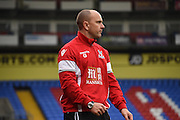 Gary Issott watches on during the Final Third Development League match between U21 Crystal Palace and U21 Bristol City at Selhurst Park, London, England on 3 November 2015. Photo by Michael Hulf.