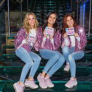 NLD/Hilversum/20191115 - K3 presenteert nieuw album 'Dromen', K3 met hun nieuwe CD 'Dromen' , Marthe De Pillecyn , Klaasje Meijer en Hanne Verbruggen