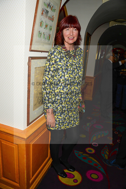 JANET STREET-PORTER at a 1970's themed party as part of Annabel's 50th anniversary celebrations, held at Annabel's, Berkeley Square, London on 24th September 2013.