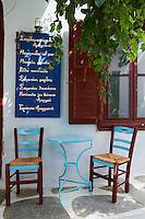 Grece, les Cyclades, ile de Amorgos, ville de Hora ou Chora // Greece, Cyclades islands, Amorgos, Hora or Chora city
