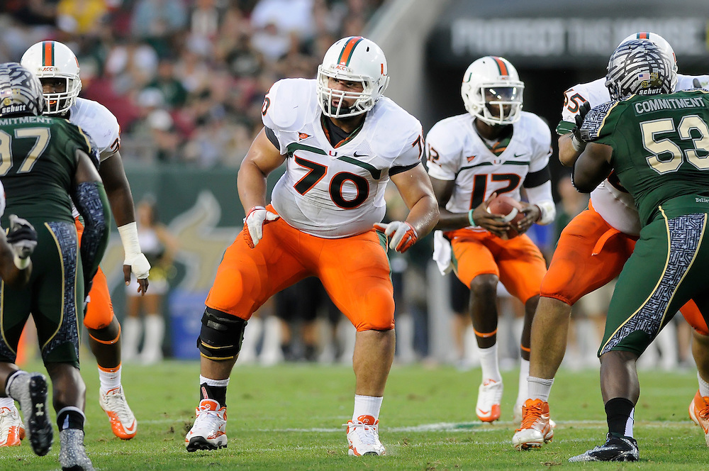 2011 Miami Hurricanes Football @ South Florida