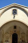 Cyprus, Omodos, Limassol district, Exterior of the Church of the Holy cross in the grounds of the Timiou Stavrou Monastery, the Monastery of the holy cross,
