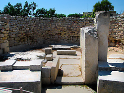MALTA TARXIEN 23JUL06 - Tarxien Neolithic temple complex in the tightly built residentdiall town of Tarxien. Though in an advanced state of disrepair, the Tarxien temples are listed as a UNESCO World Heritage site. The Maltese prehistoric temples are the oldest freestanding buildings ever discovered, dating back as far as 3600 BC...jre/Photo by Jiri Rezac..© Jiri Rezac 2006..Contact: +44 (0) 7050 110 417.Mobile:  +44 (0) 7801 337 683.Office:  +44 (0) 20 8968 9635..Email:   jiri@jirirezac.com.Web:    www.jirirezac.com