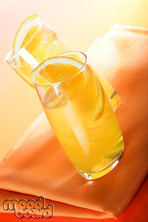 Orange juice - studio shot
